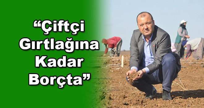 Milletvekili Aygun: Çiftçi Borç Batağında