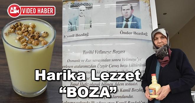 Türkiye'nin En Meşhur Bozası 'Velimeşe Bozası'