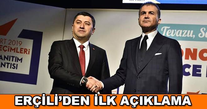 """Serkan Erçili'den ilk açıklama , """"Çorlu Halkını Ak Belediyecilik ile Tanıştırmak İçin Geliyorum"""""""