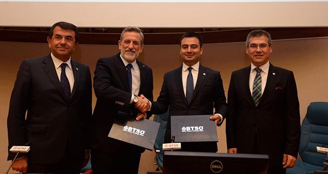 Çorlu TSO ve Bursa TSO  Arasında Stratejik İşbirliği