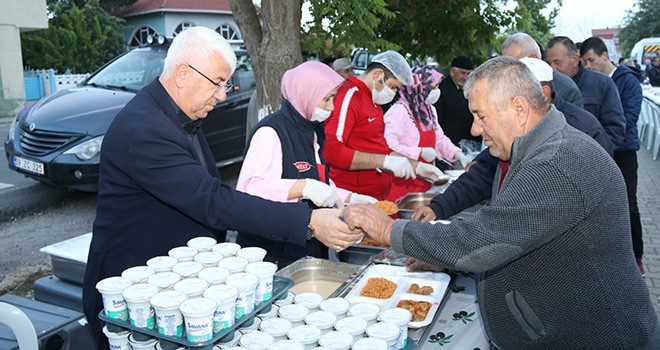 Sevgi Sofraları Kırkgöz Mahallesinde Kuruldu