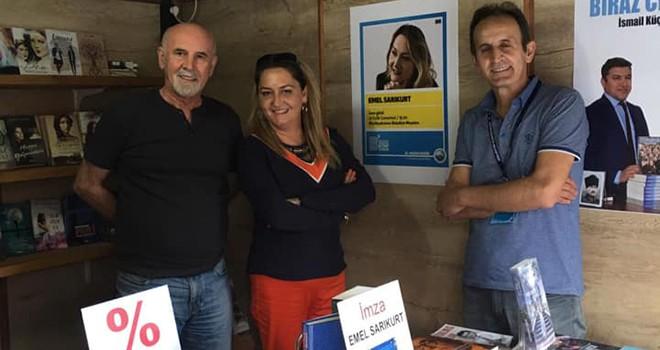 Yazar Emel Sarıkurt Çorlu'yu temsil etmeyi sürdürüyor
