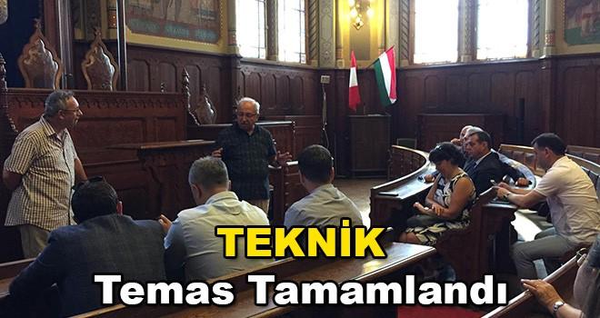 Başkan Albayrak Macaristan'da Teknik Temas Programını Tamamladı