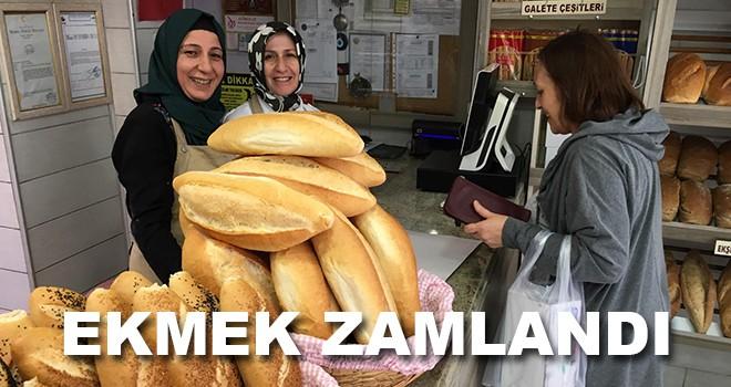 Çorlu'da ekmek fiyatı zamlandı