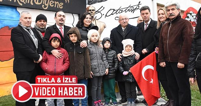 Tekirdağ Büyükşehir Belediyesi'nden Çorlu'ya Atatürk Büstü