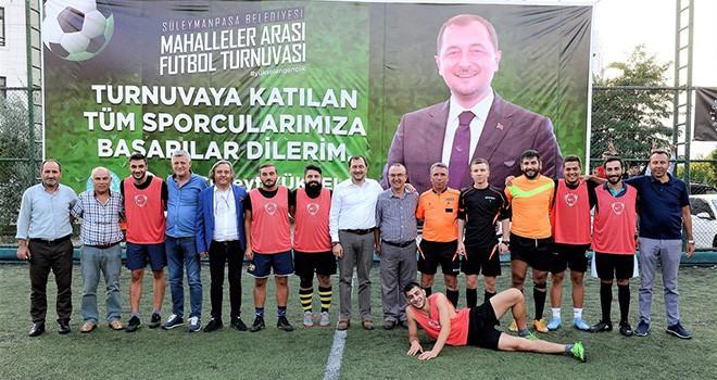 Mahalleler Arası Futbol Turnuvası Heyecanı Başladı
