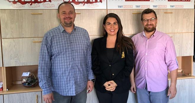 Feray Karagöz'den Bizim Tekirdağ'a ziyaret