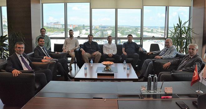 Tekirdağ BŞB Başkanı Albayrak'tan Çorlu TSO'ya ziyaret