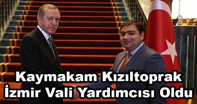 Ergene Kaymakamı Kızıltoprak İzmir Vali Yardımcısı Oldu
