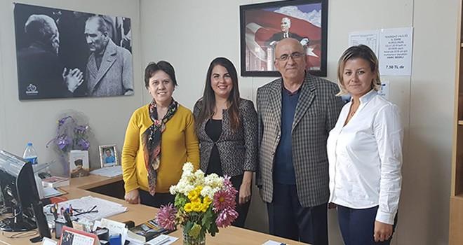Belediye Başkanı Aday Adayı Feray Karagöz'den Muhtarlara Ziyaret