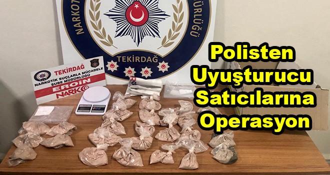 Çorlu Polisinden Uyuşturucu Operasyonu 2 Gözaltı