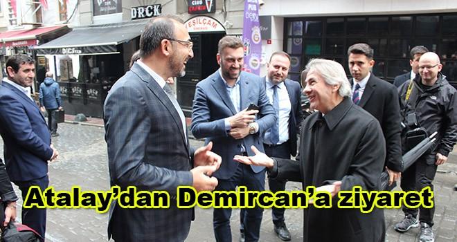 AK Partili Atalay'dan Beyoğlu Belediye Başkanı Demircan'a ziyaret
