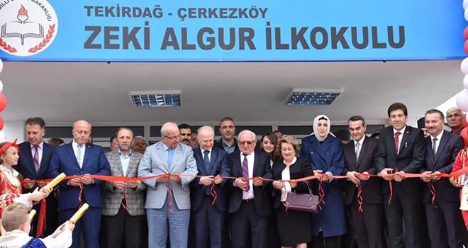Zeki Algur İlkokulu Açıldı