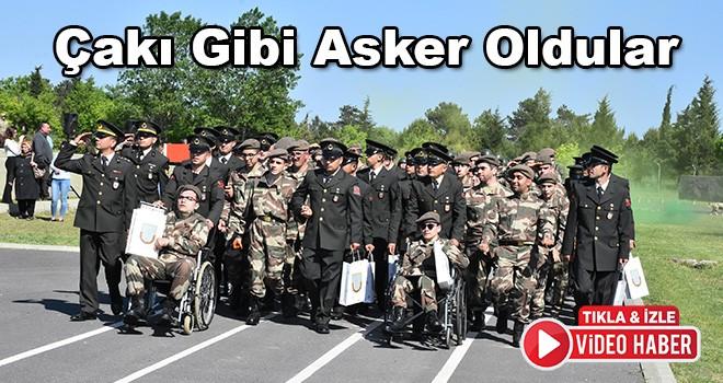 Engelli Gençler Çakı Gibi Asker Oldu