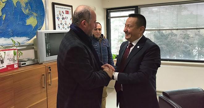 Kızılay'ın Yeni Yönetimine İlk Ziyaret Sarıer'den