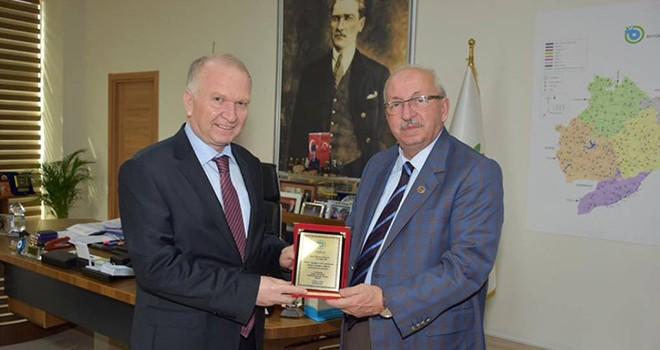 Tekirdağ Valisi Mehmet Ceylan'dan Veda Ziyareti