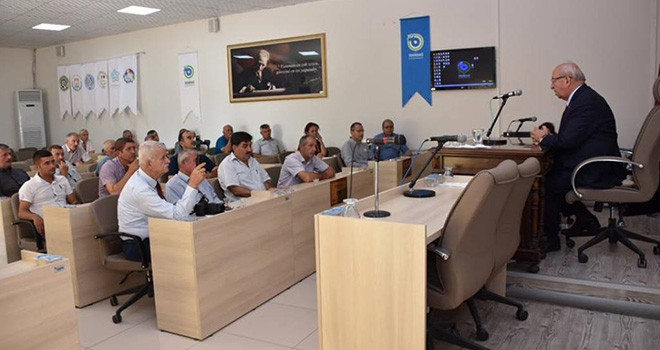Katı Atık Depolama Alanları İle İlgili Bilgilendirme Toplantısı
