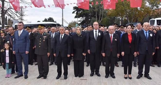 Ebedi Önder Mustafa Kemal Atatürk Tekirdağ'da Törenlerle Anıldı