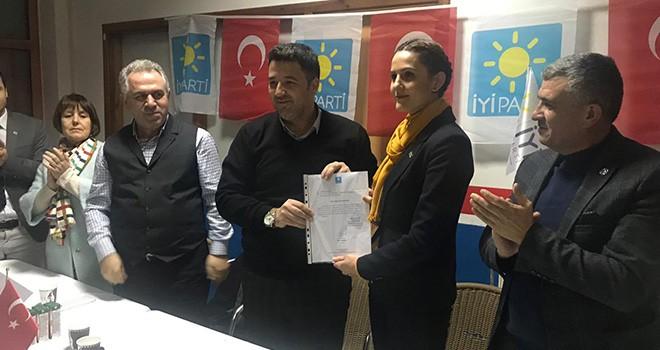 İYİ Parti'de Çerkezköy'e Kadın Başkan