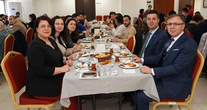 TSD Çorlu Şubesi Gazetecileri Unutmadı
