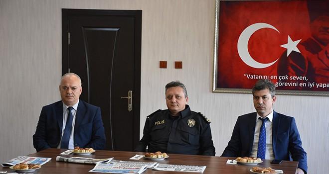 İl Emniyet Müdürü Mehmet Erduğan Basınla Bir Araya Geldi
