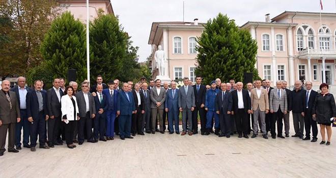 Başkan Kadir Albayrak Muhtarlar Günü Etkinliğine Katıldı