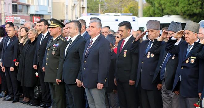 Marmaraereğlisi'nde Ulu Önder Saygıyla Anıldı