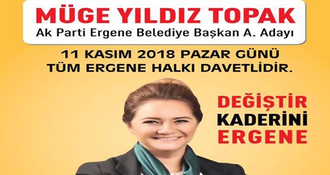 Müge Yıldız Topak AK Parti'den aday adaylığını açıklayacak