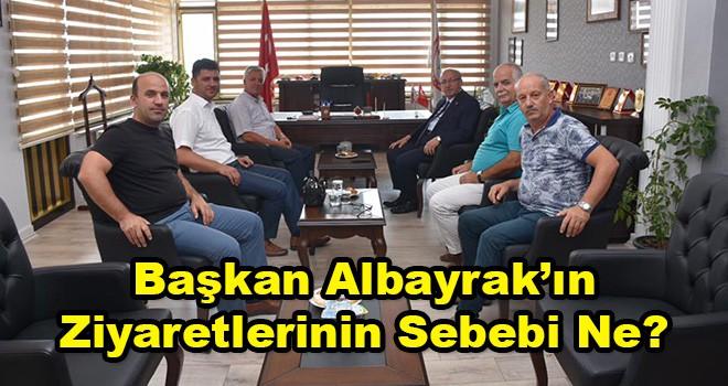 Başkan Albayrak'tan Büyükşehir Belediye Meclis Üyelerine Ziyaret