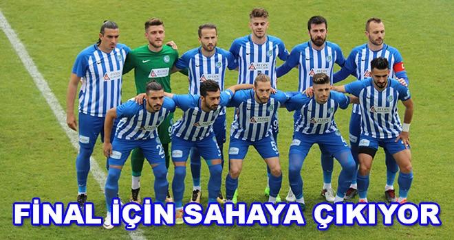 Ergene Velimeşespor final için sahaya çıkıyor
