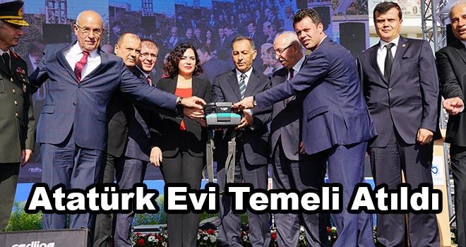 Çorlu Atatürk Evi'nin Temeli Atıldı
