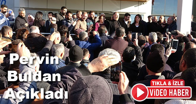 Demirtaş ailesinin sağlık durumunu Pervin Buldan açıkladı