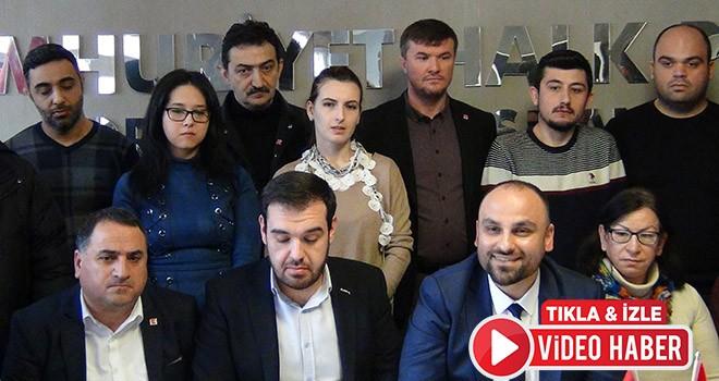 CHP Örgütü İstifa Etti