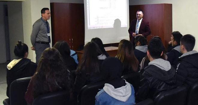Öğrencilere zabıta mevzuatları hakkında eğitim verildi