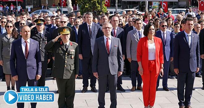 Çorlu'da 19 Mayıs Coşkusu