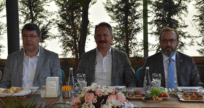AK Parti Çorlu'da Basın Mensuplarıyla Buluştu