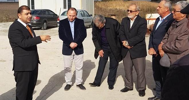 """Kaymakam Kızıltoprak, """"Ergene Planı Türkiye'nin en büyük temizlik projesi"""""""
