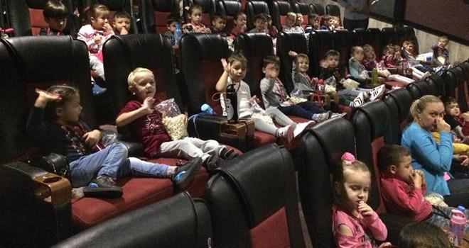 Beren Bebek Çocuk Akademisi öğrencileri sinema keyfi yaşadı