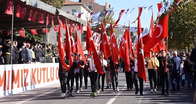 Tekirdağ'da Cumhuriyet'in 95. Yılı Coşkuyla Kutlandı