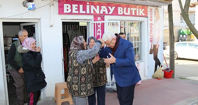 Başkan Yüksel Ergene Halkının Kandilini Kutladı