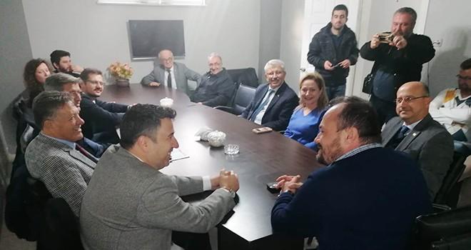 İYİ Parti'den Çorlu Gazeteciler Derneğine Ziyaret