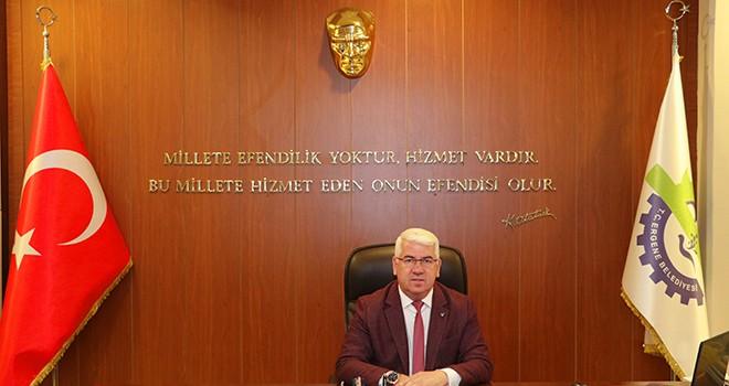 Başkan Rasim Yüksel'den 29 Ekim Kutlaması