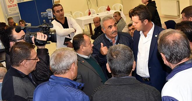 Başkan Sarıkurt Rumeli Mahallesi sakinlerinin sorunlarını dinledi