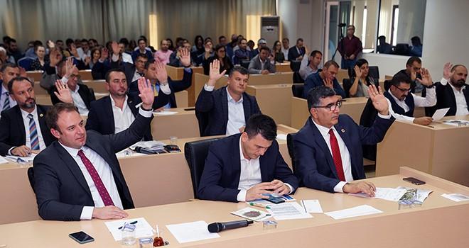 Çorlu'da Kasım ayı meclis toplantısı gerçekleştirildi