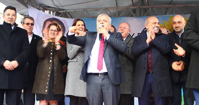 İYİ Parti'nin Saray Adayı Ali Özen