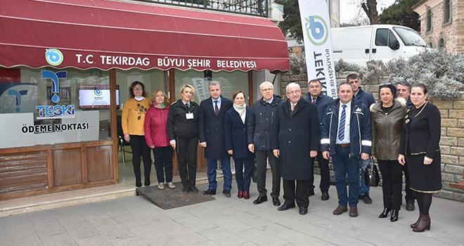 TESKİ Süleymanpaşa'ya Tahsilat Bürosu Açtı