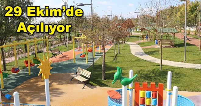 Ergene'de 100. Yıl Gençlik Parkı Açılıyor