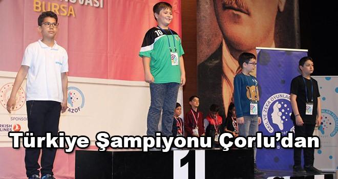 Türkiye Şampiyonluğu Çorlu'nun