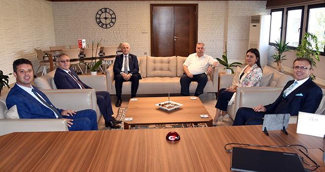 Kaymakam Sarılı'dan Başkan Sarıkurt'a iadeyi ziyaret