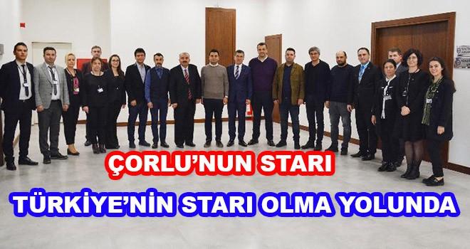 Çorlu'nun Starı Türkiye'nin Starı Olma Yolunda